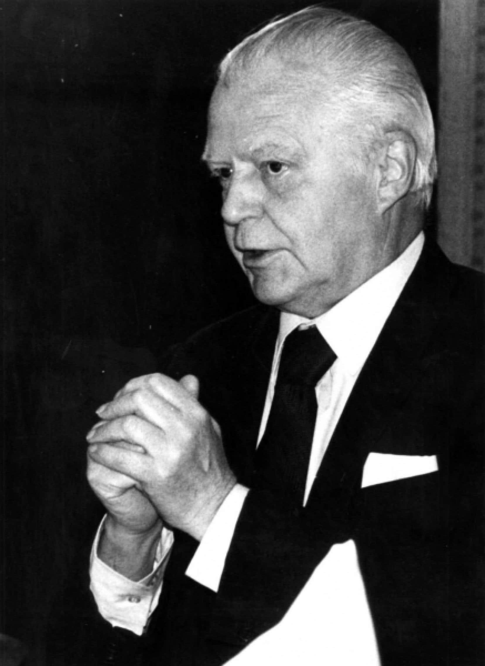 Jean-Marc Léger devient en 1961 le premier secrétaire général de l'Association des universités partiellement ou entièrement francophones (AUPELF). <br />
