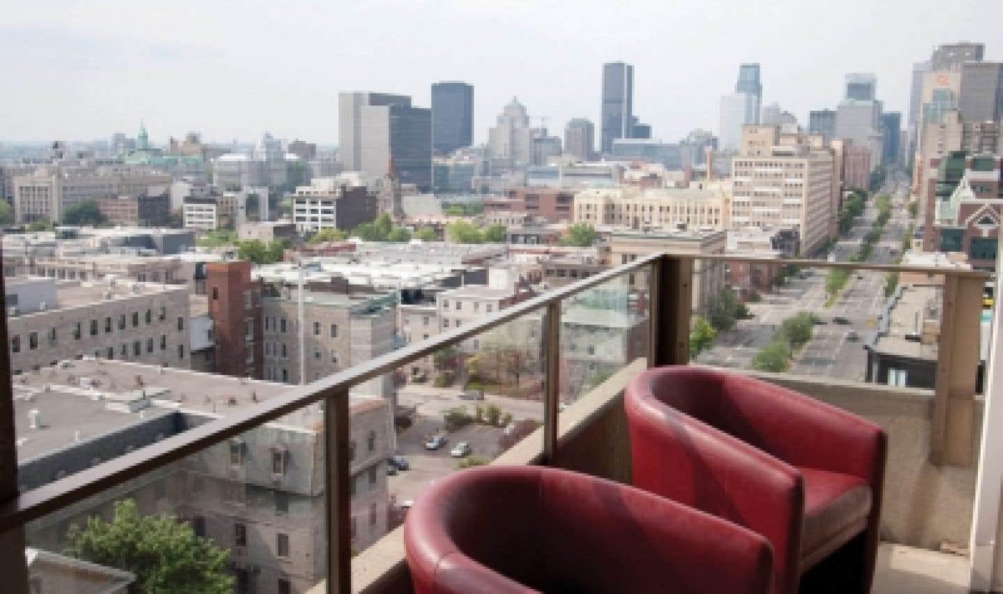 Une vue imprenable sur le centre-ville