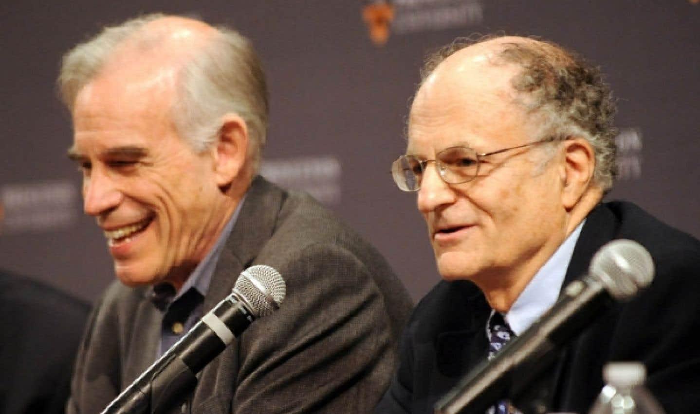 Le Nobel d'économie est décerné à deux chercheurs américains