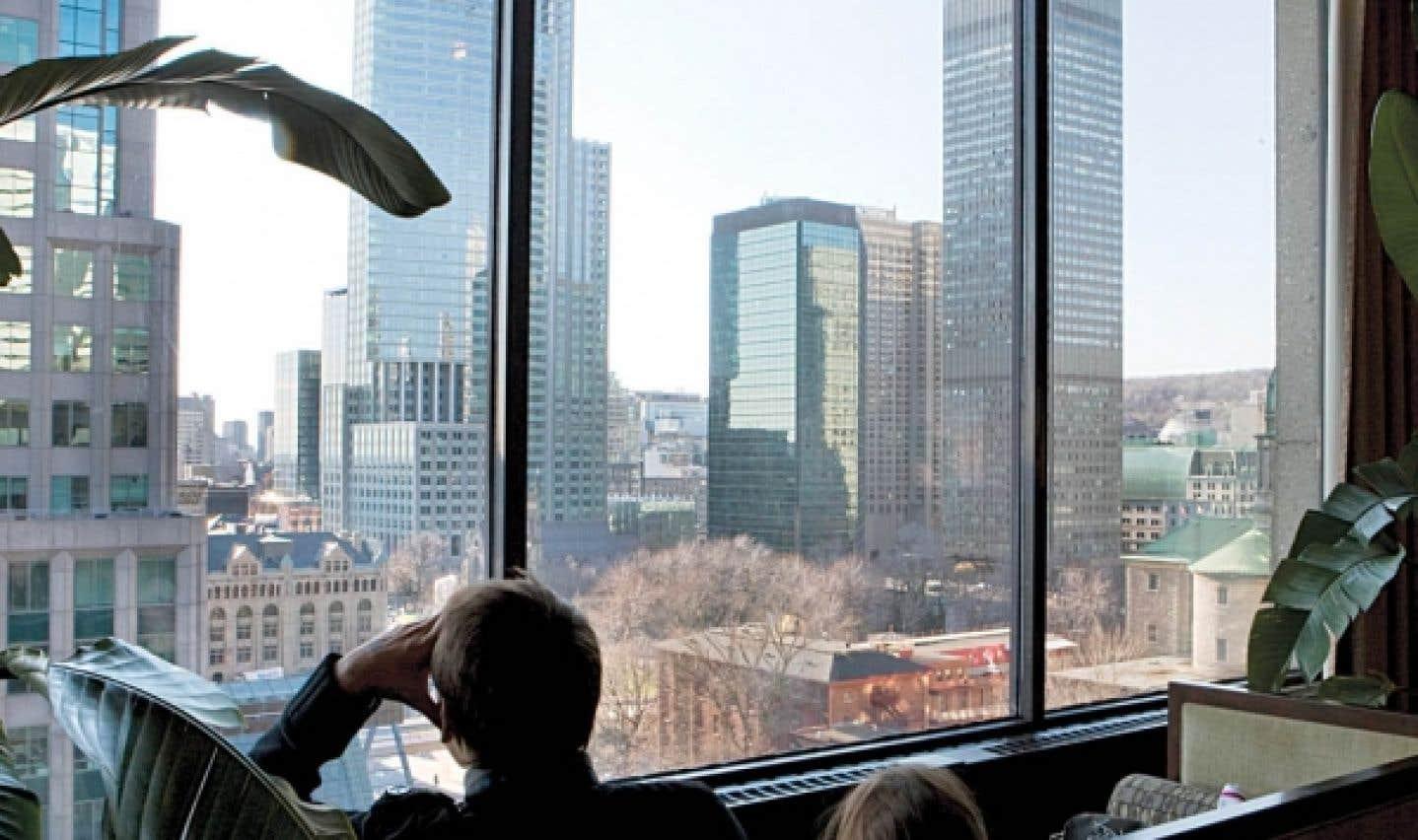 Le marché immobilier d'affaires se raffermit à Montréal