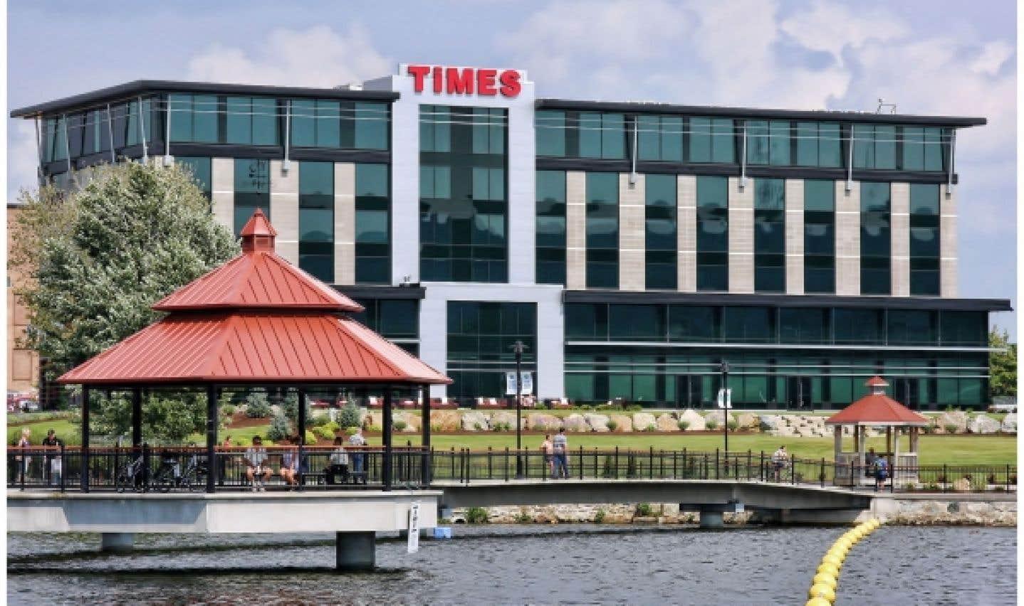 Le Times, un hôtel quatre étoile situé à Sherbrooke