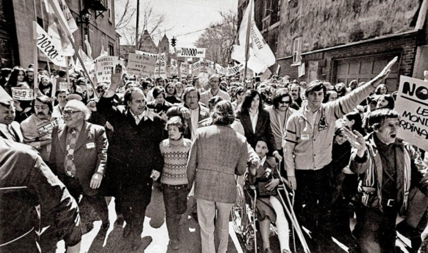 Un Québec syndical - 40 % des travailleurs étaient syndiqués à la fin des années 70