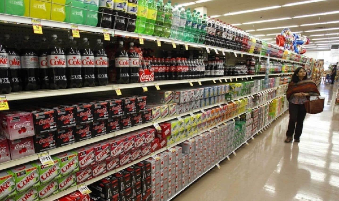Boissons sucrées: la Coalition Poids interpelle Santé Canada