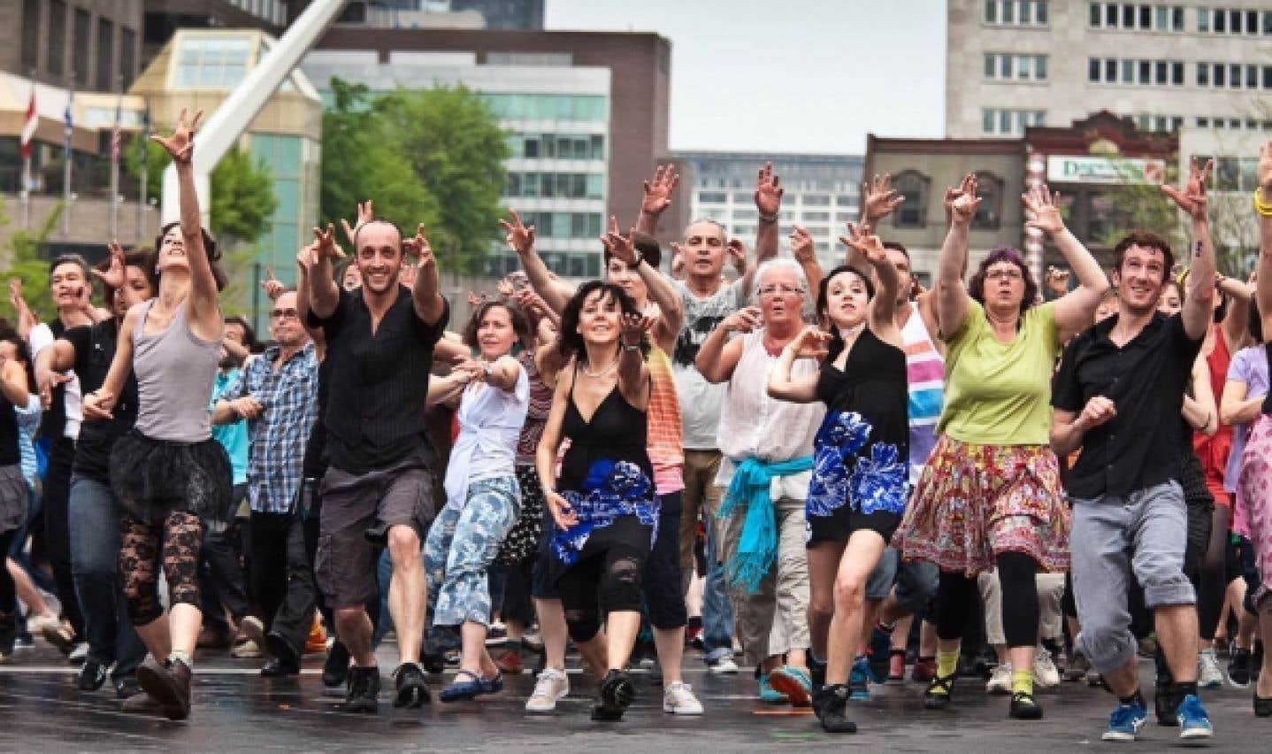 Danse, parole et cirque - «Oui, c'est plus facile à Montréal!»