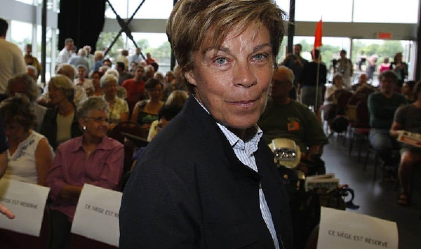 PQ: Louise Beaudoin va consulter ses électeurs au sujet de son possible retour