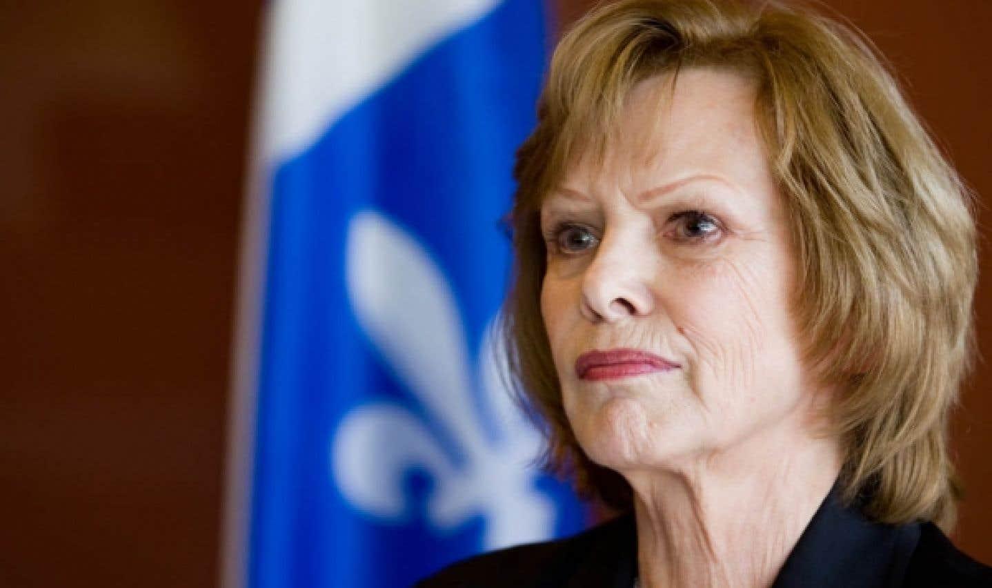 Lisette Lapointe laissera la vie politique