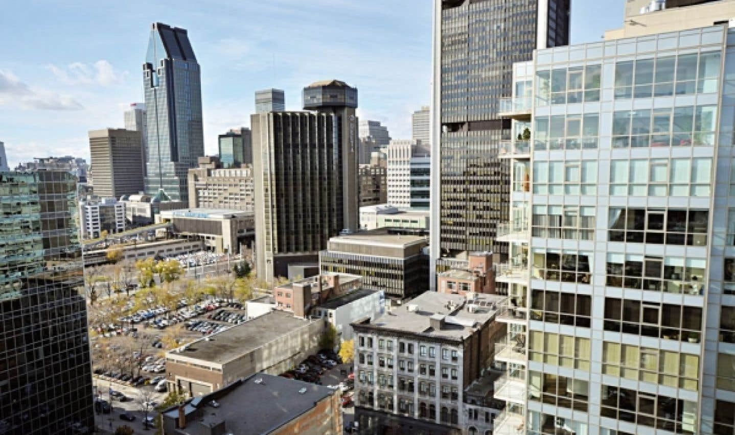 Les condos Saint M se situent à la croisée du Vieux-Montréal et du centre-ville.