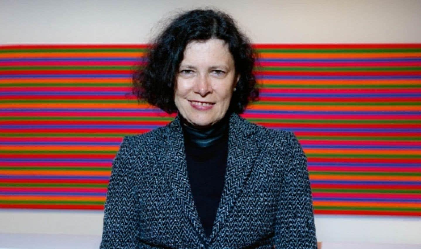 Paulette Gagnon, directrice du Musée d'art contemporain