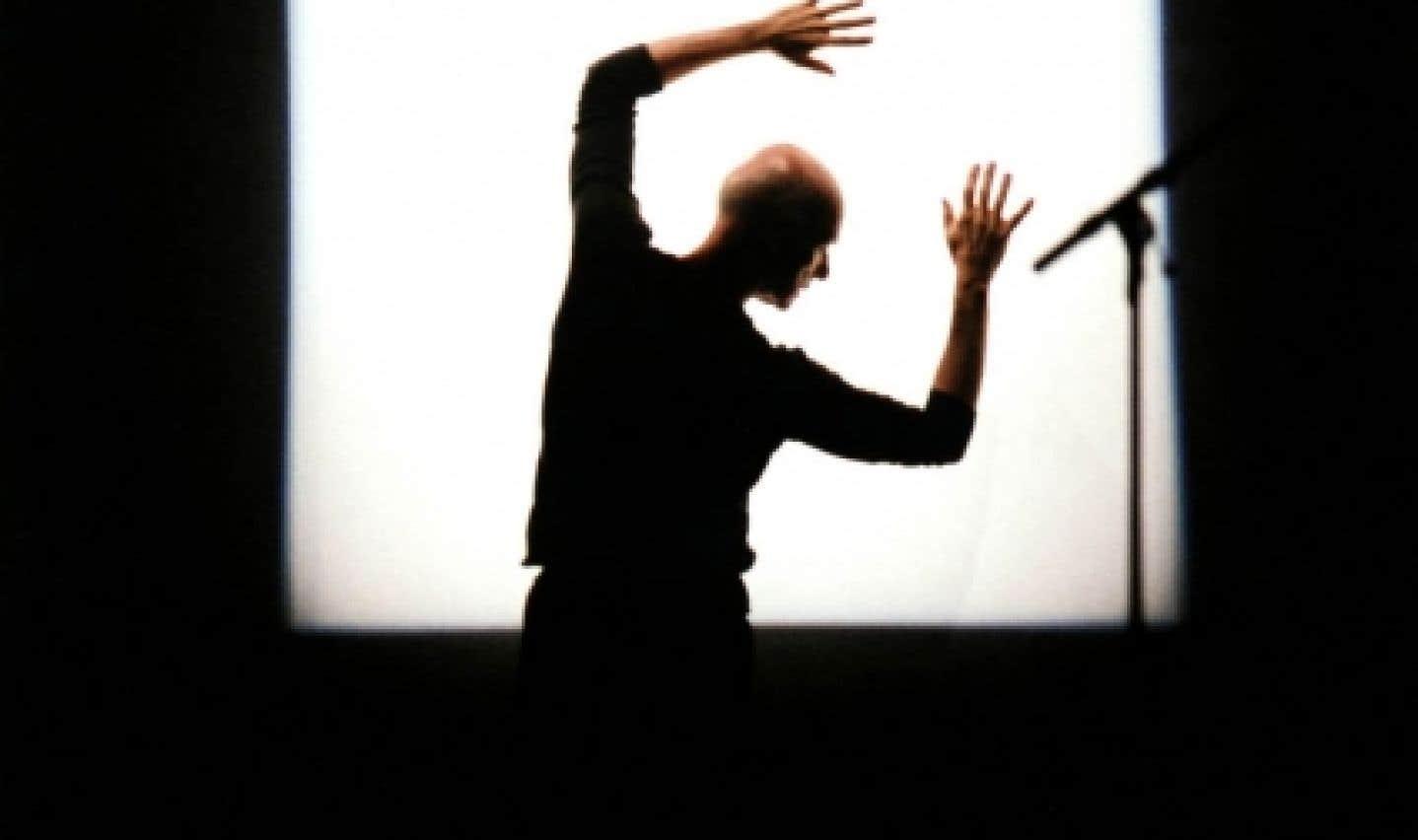 Le chorégraphe et danseur Paul-André Fortier