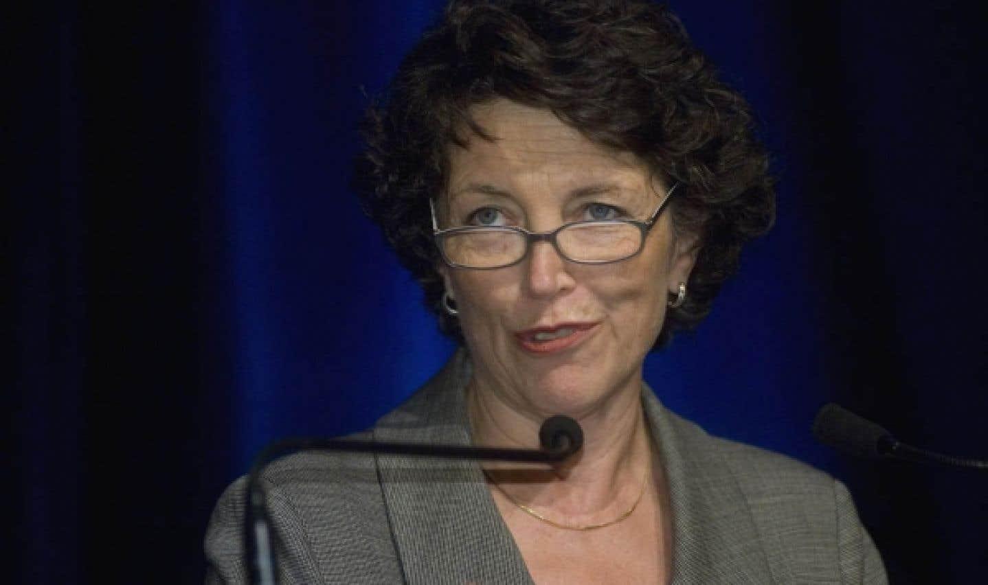 La présidente du Conseil des arts de Montréal, Louise Roy