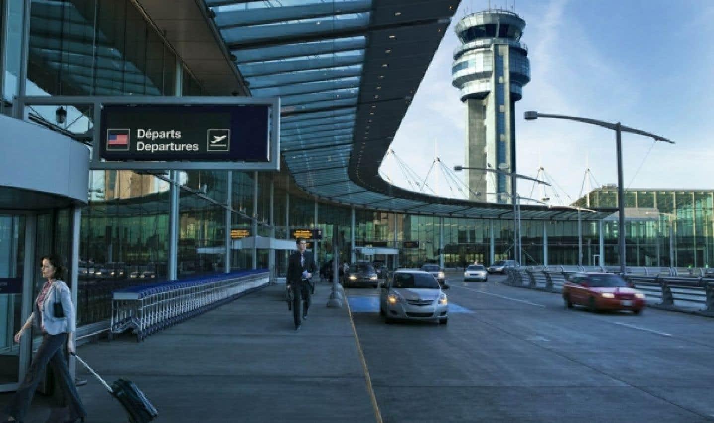 L'aéroport Trudeau à Dorval