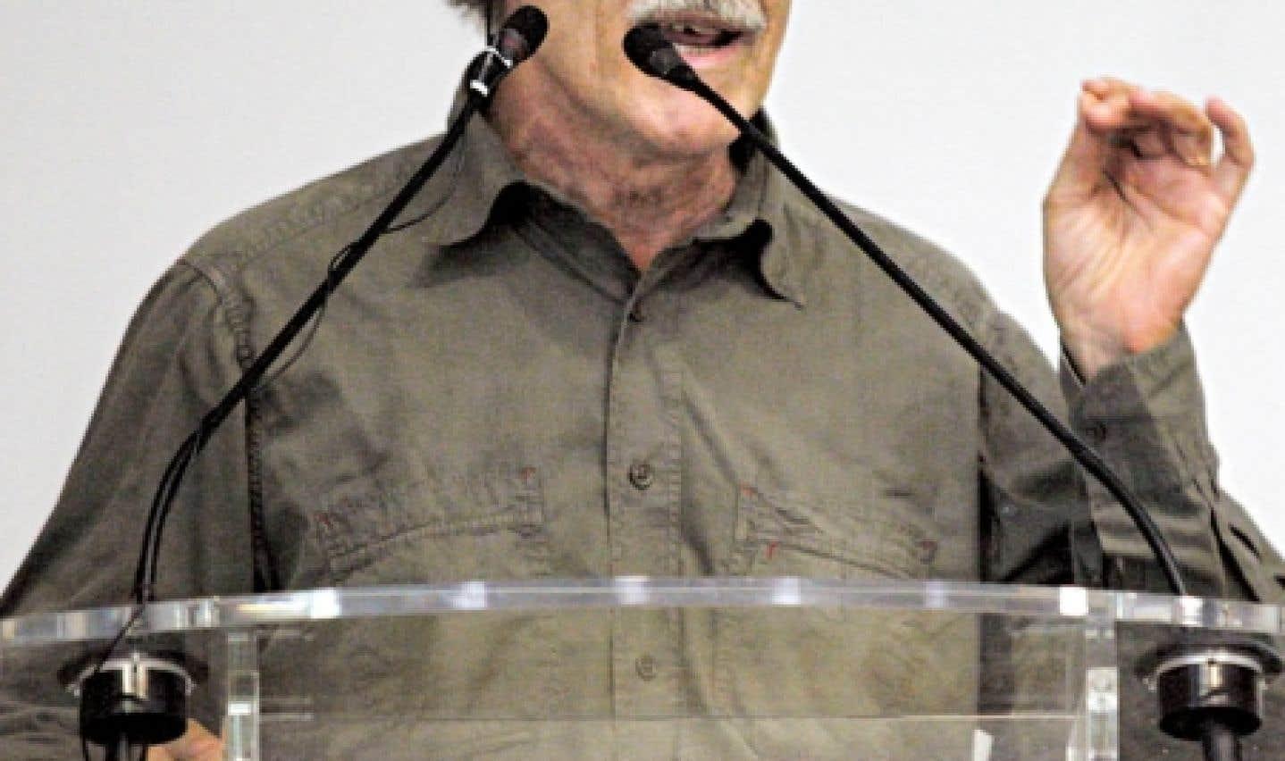 Alain Lipietz, coordonnateur d'une étude de l'Unesco sur la Conférence de Rio