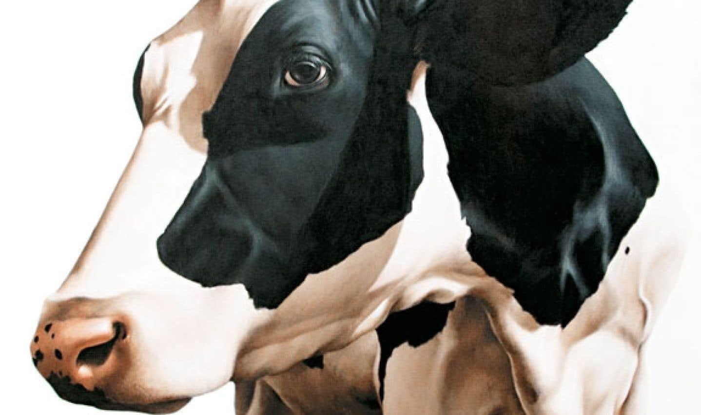 Éloïse Brodeur, Abraham, 2011, acrylique sur toile