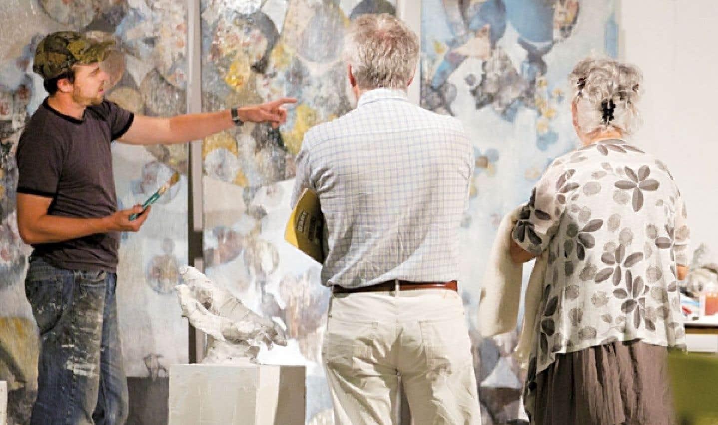 Le Symposium international d'art contemporain de Baie-Saint-Paul, tient sa 30e édition en août.