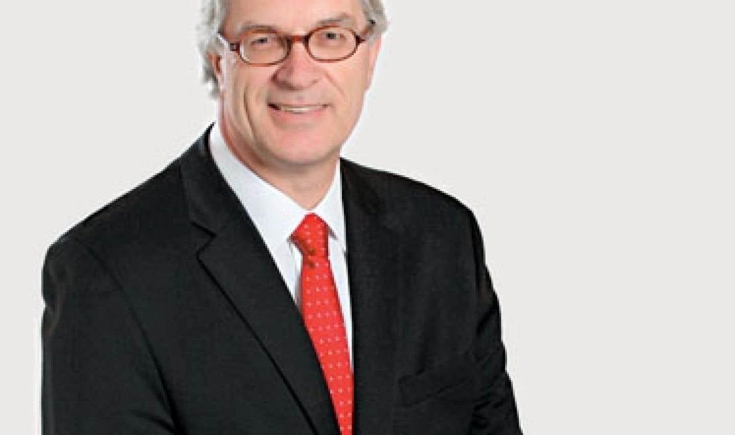 Michel Audet, commissaire général du Forum mondial de la langue française