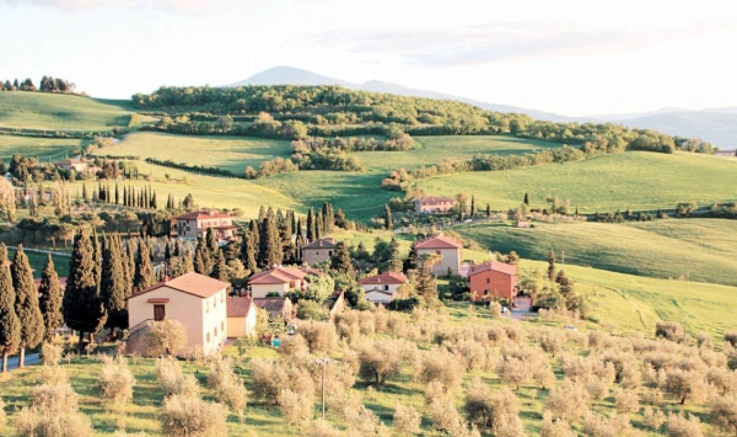 Montichiello en val d'Orcia