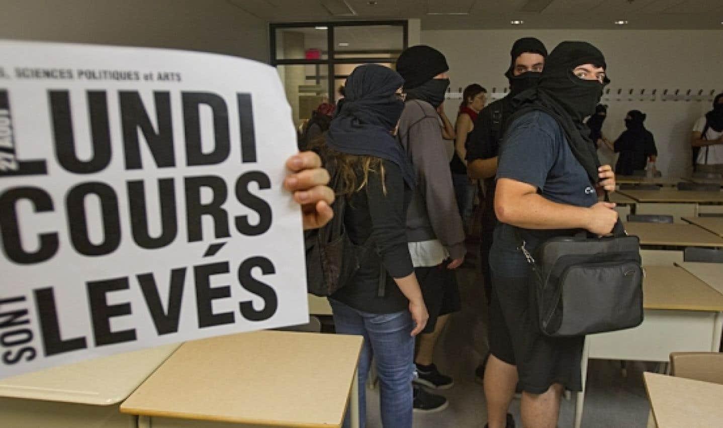 Rentrée des classes perturbée à l'UQAM et à l'Université de Montréal