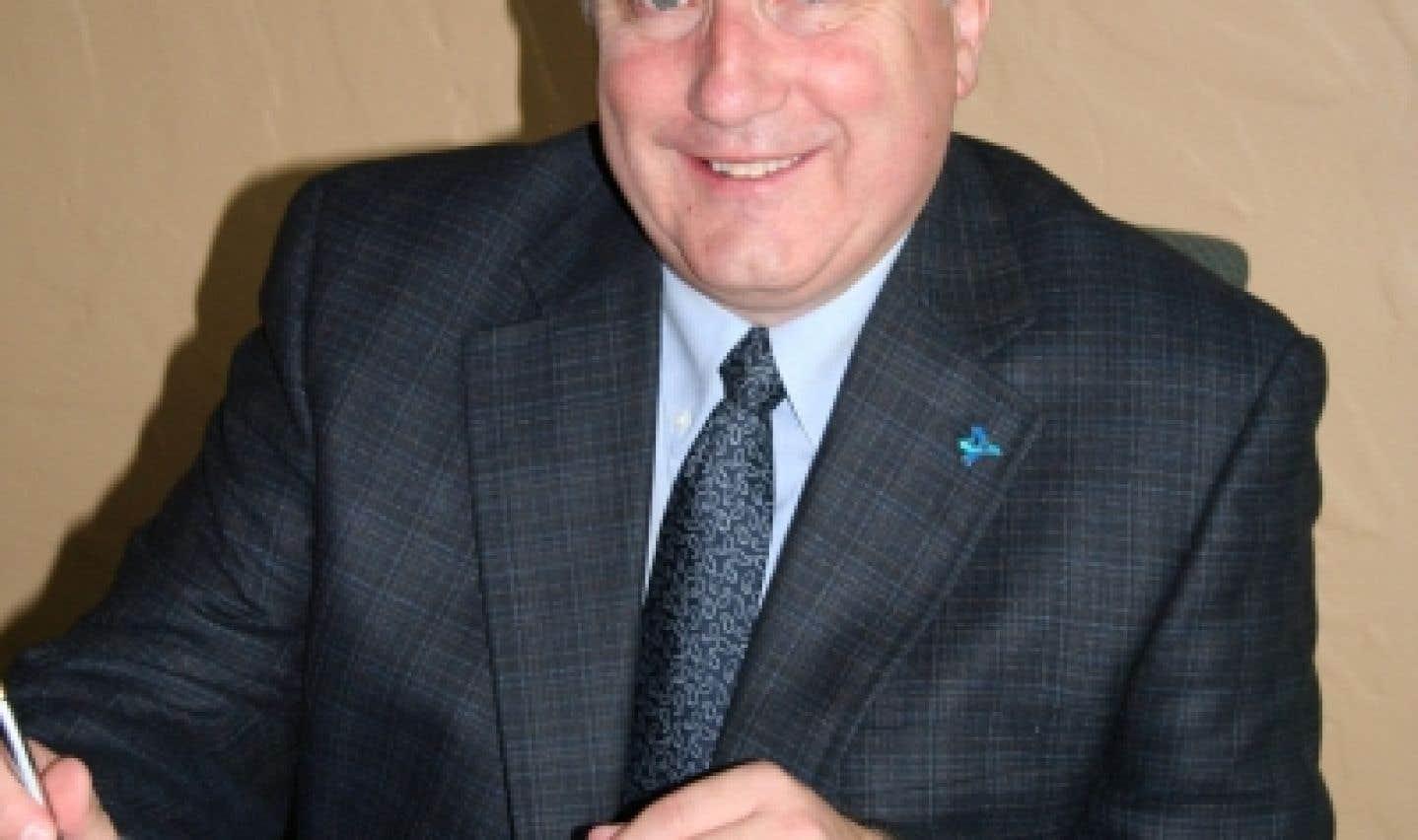 Jean-Marc Saint-Jacques, président de la Fédération des établissements d'enseignement privé.