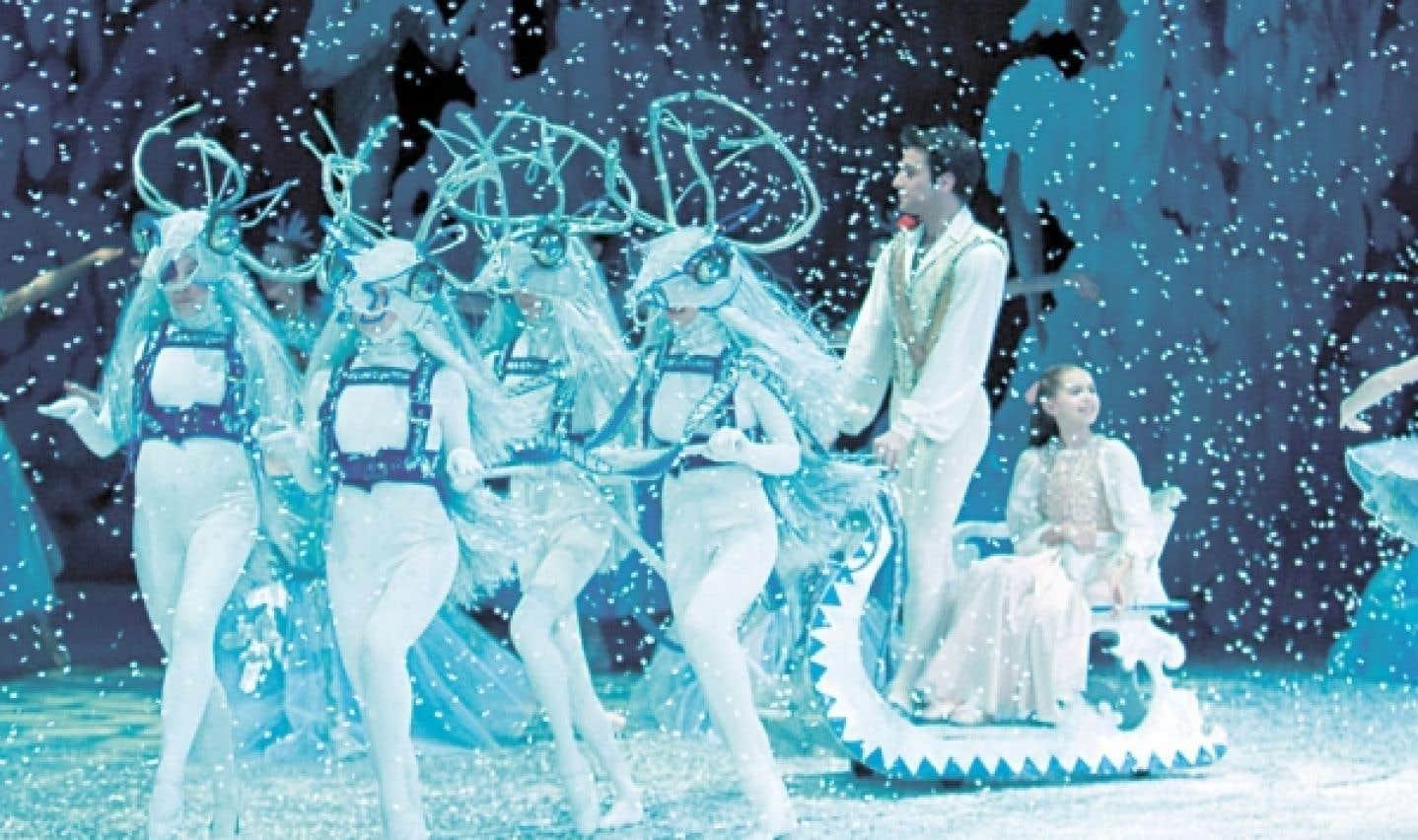 Retrouvez cette année encore la petite Clara et son casse-noisette au pays des neiges et au royaume des friandises.