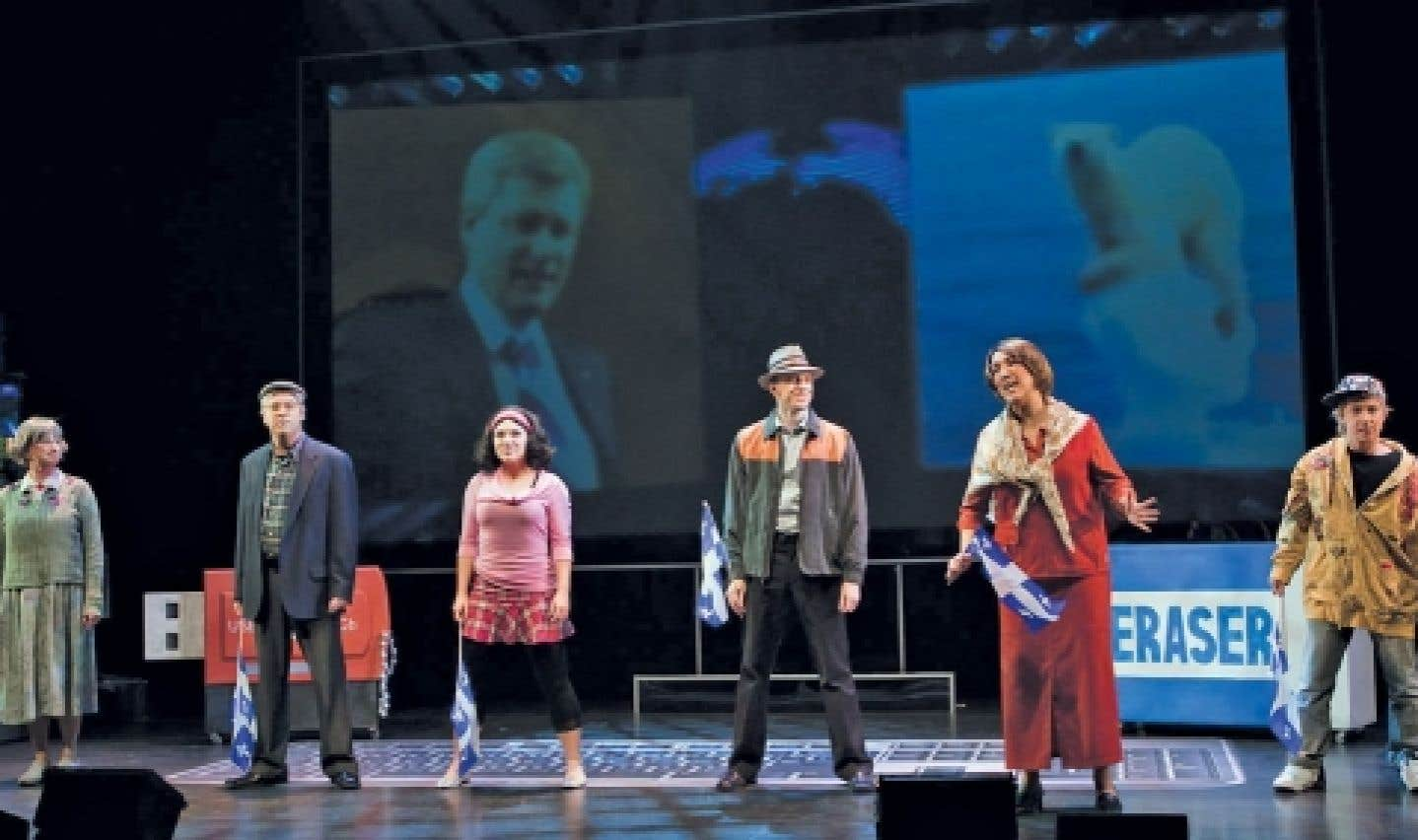 Avant d'entamer 2013, le théâtre du Rideau vert nous invite à sa traditionnelle revue de l'année.