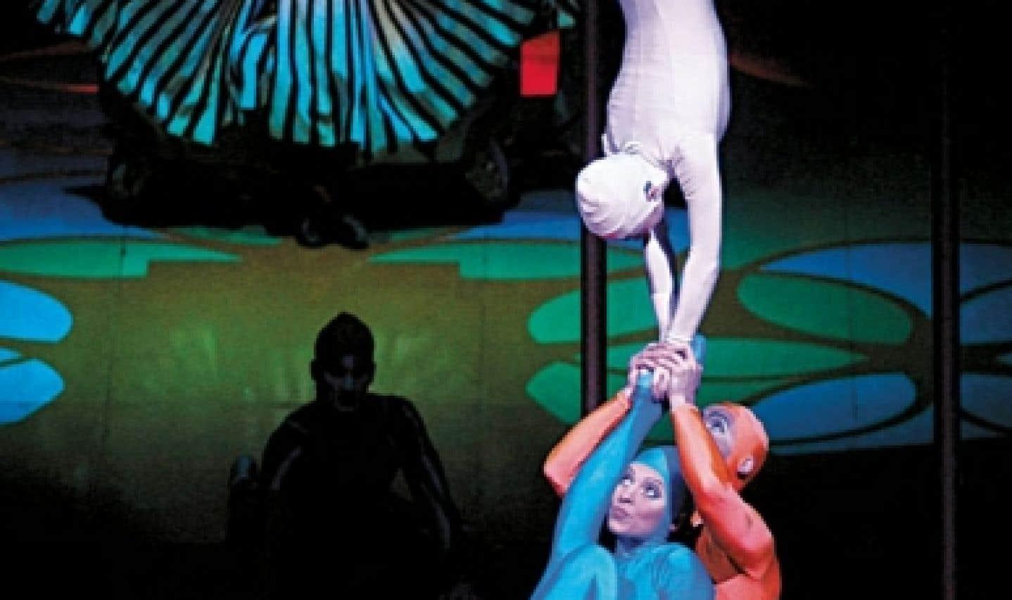 Le Cirque du Soleil présente Saltimbanco au Centre Bell du 19 au 30 décembre.