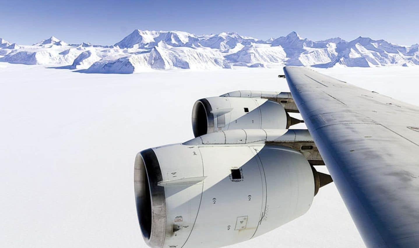 Réchauffement spectaculaire de l'ouest de l'Antarctique