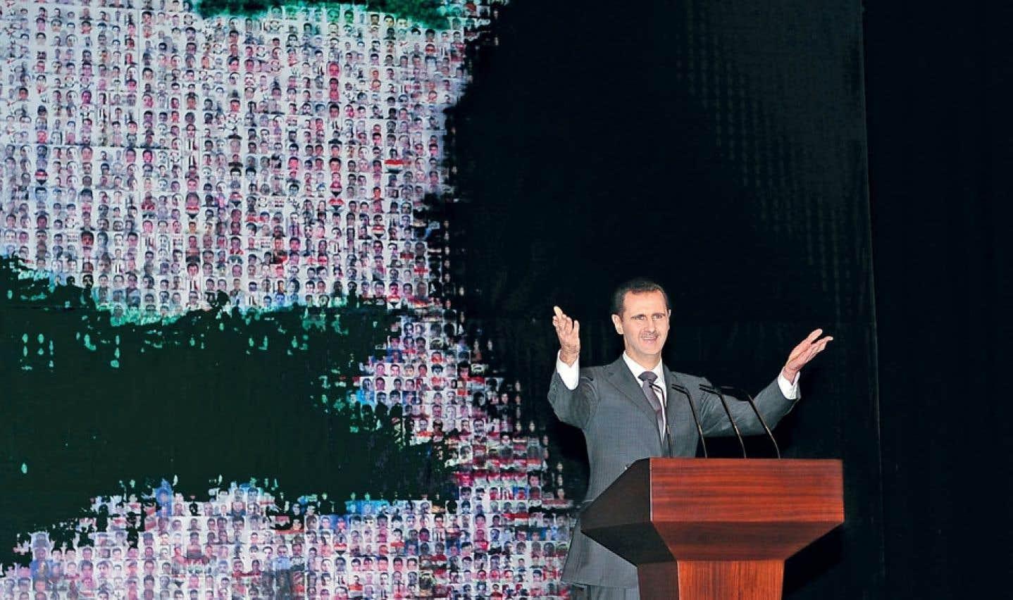 Syrie : discours martial d'un président sourd, aveugle et assiégé