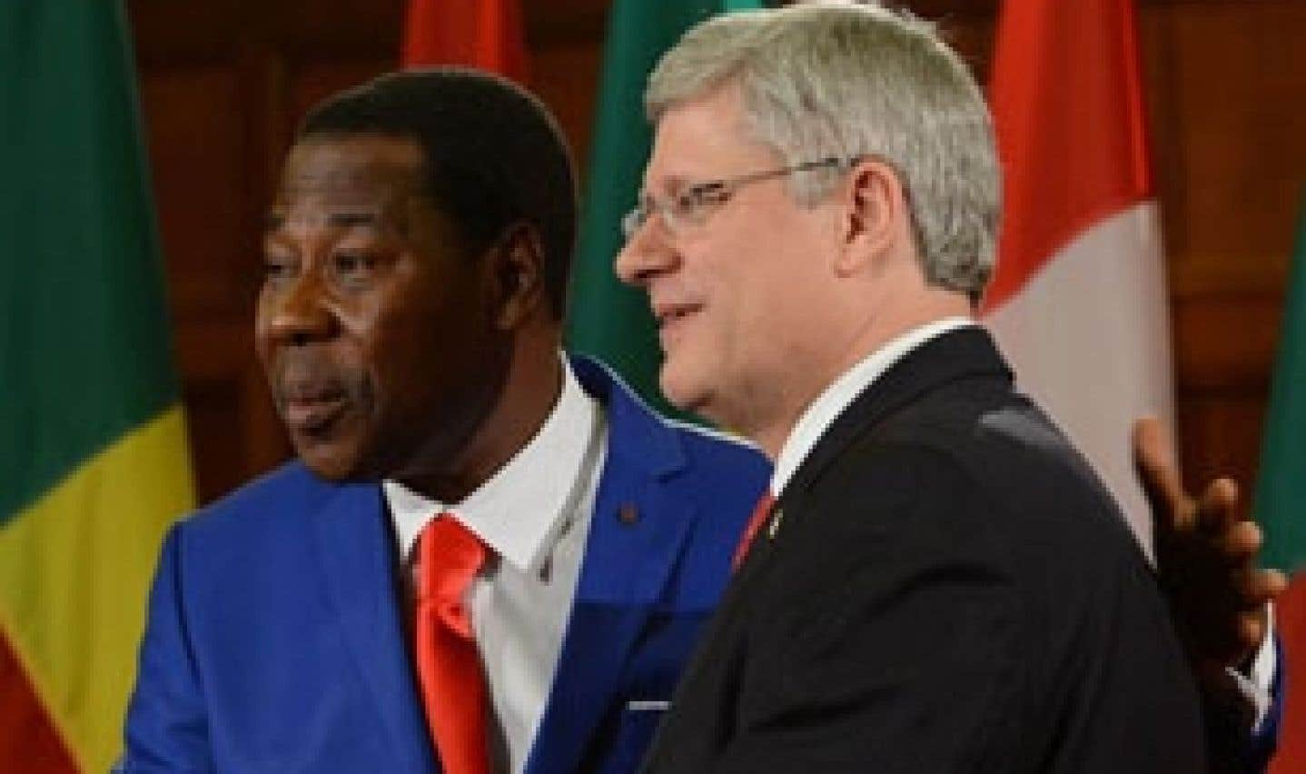 Harper écarte l'intervention militaire au Mali