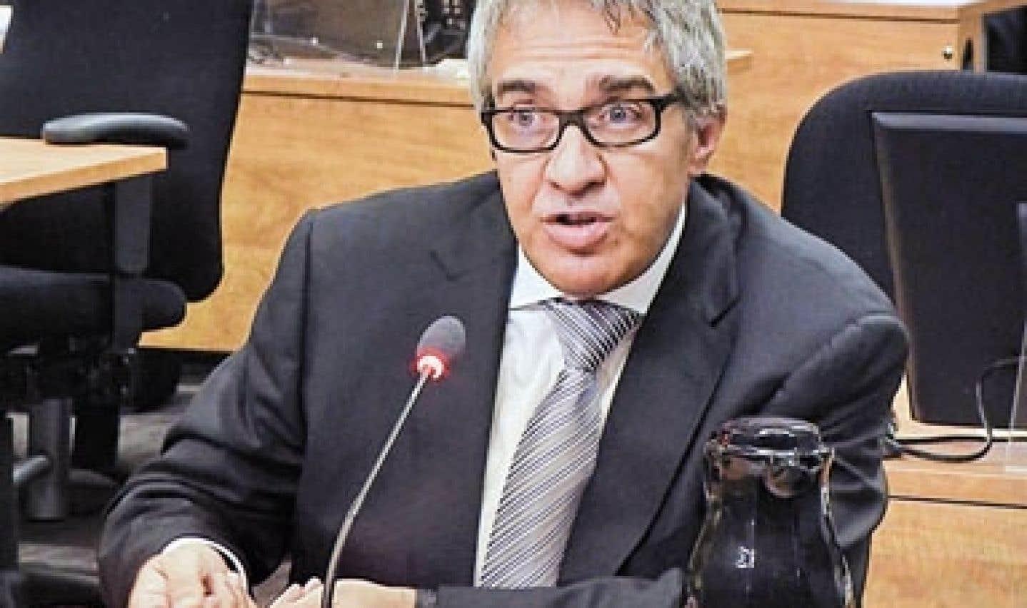 Commission Charbonneau - Giuseppe Borsellino se montre évasif