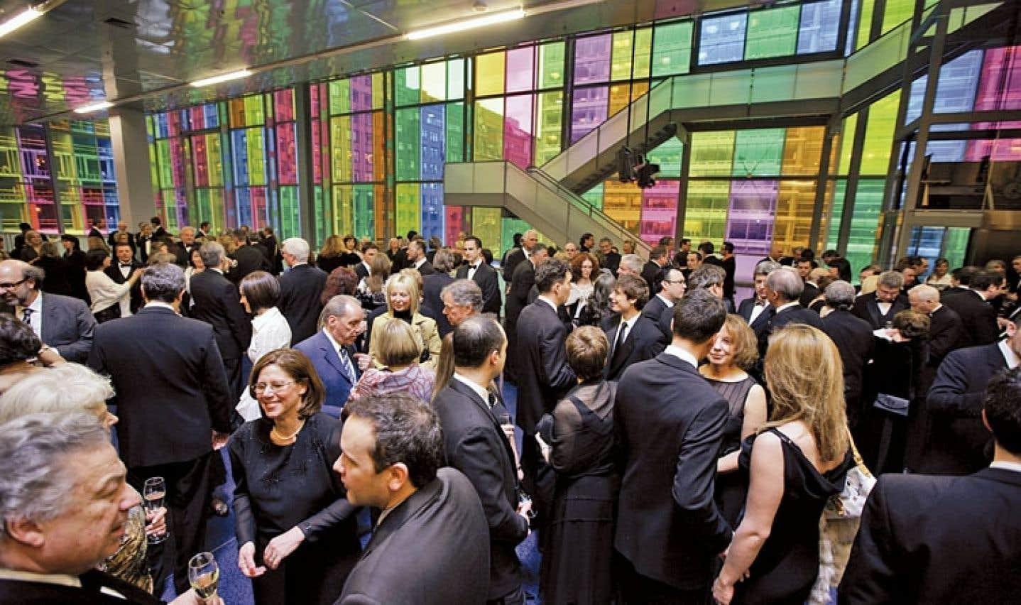 Le Palais des congrès de Montréal accueille des milliers de délégués chaque année.