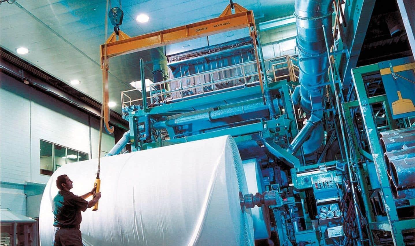 L'usine Cascades, à Kingsey Falls, est ouverte aux visiteurs curieux de s'initier aux procédés de recyclage.