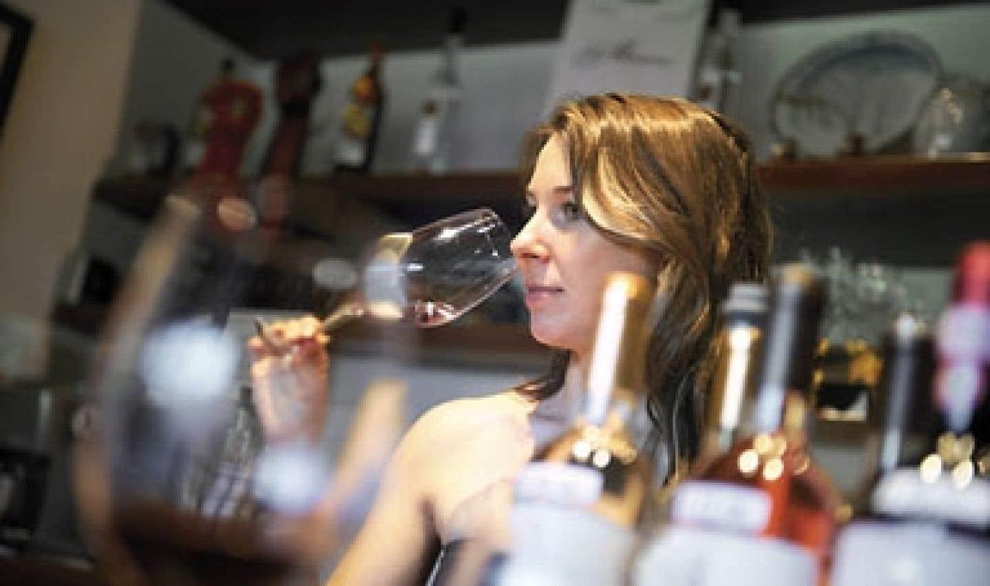 La vigneronne Paula Papini Cook, 27 ans, présentait cette semaine à Montréal sa plus récente cuvée de Miccine.