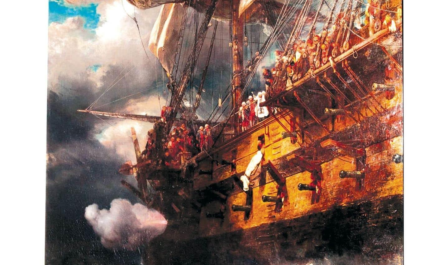 Le MBAM a acquis Funérailles d'un officier de marine sous Louis XVI, une huile d'Eugène Isabey datée de 1836. La toile sera un des points centraux du futur pavillon d'art international du musée.