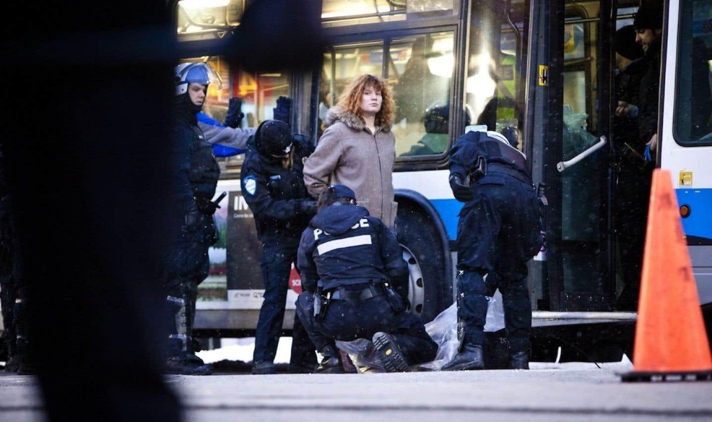 Ville de Montréal - Règlement P-6: la police n'entend pas lâcher prise