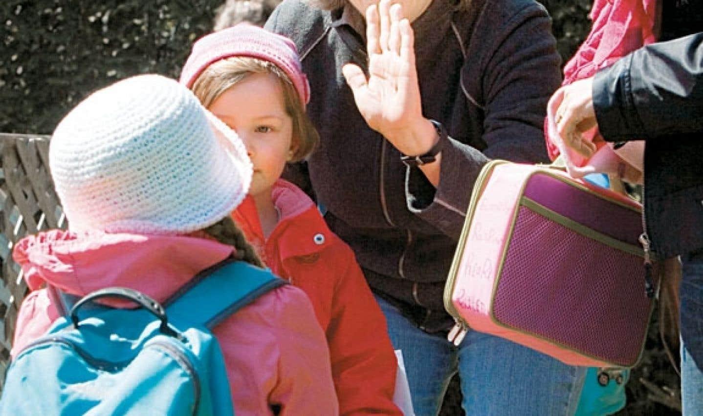 Le passage de la garderie à l'école est un moment qui peut être difficile pour les enfants.