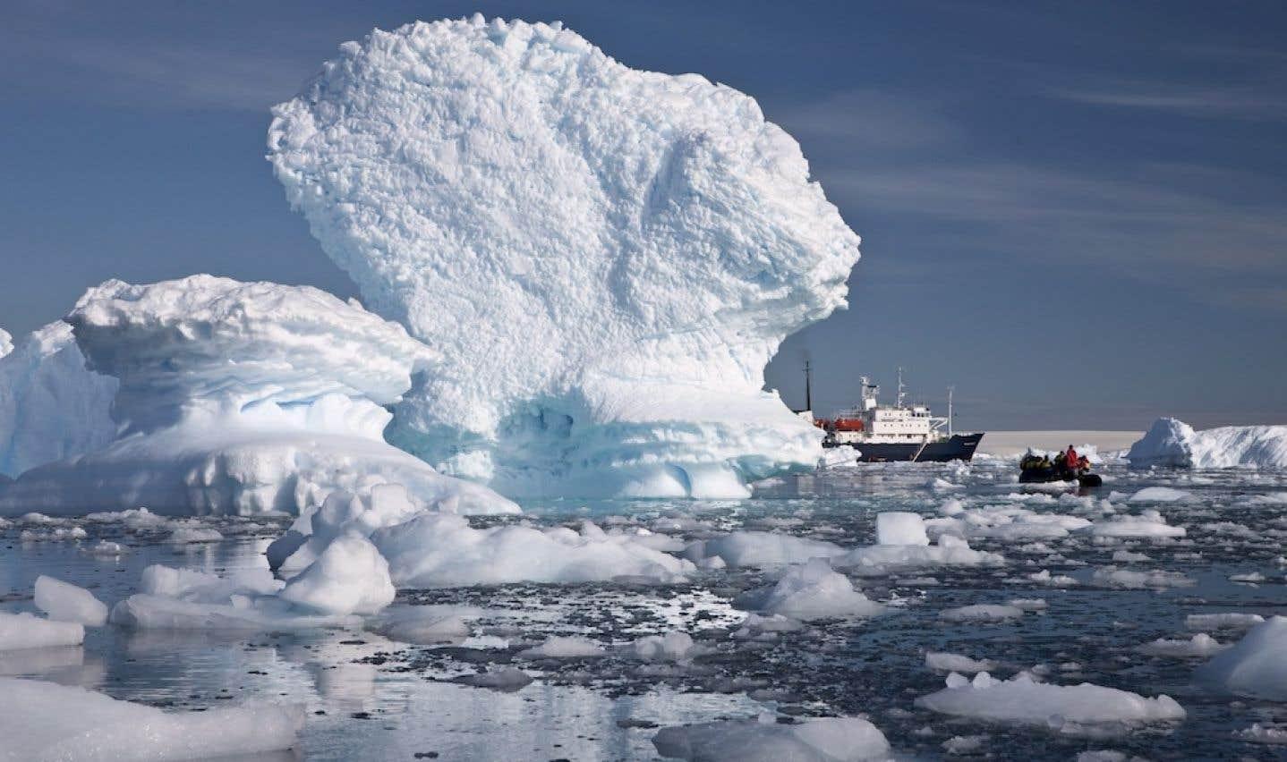 Les glaces de l'Antarctique fondent à vue d'œil