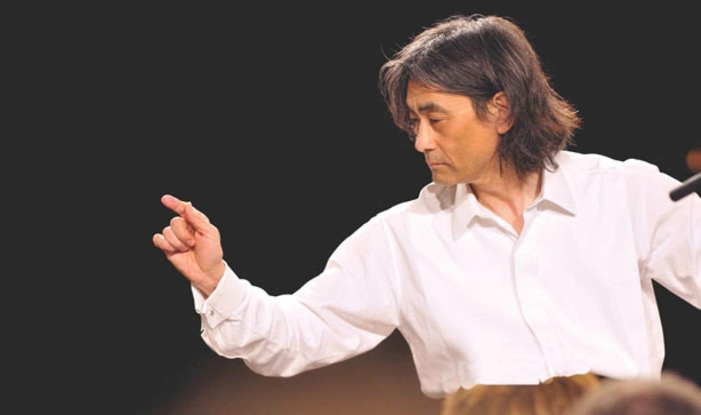 Kent Nagano sera à la tête de l'Orchestre de l'Académie Orford, le 6 août.