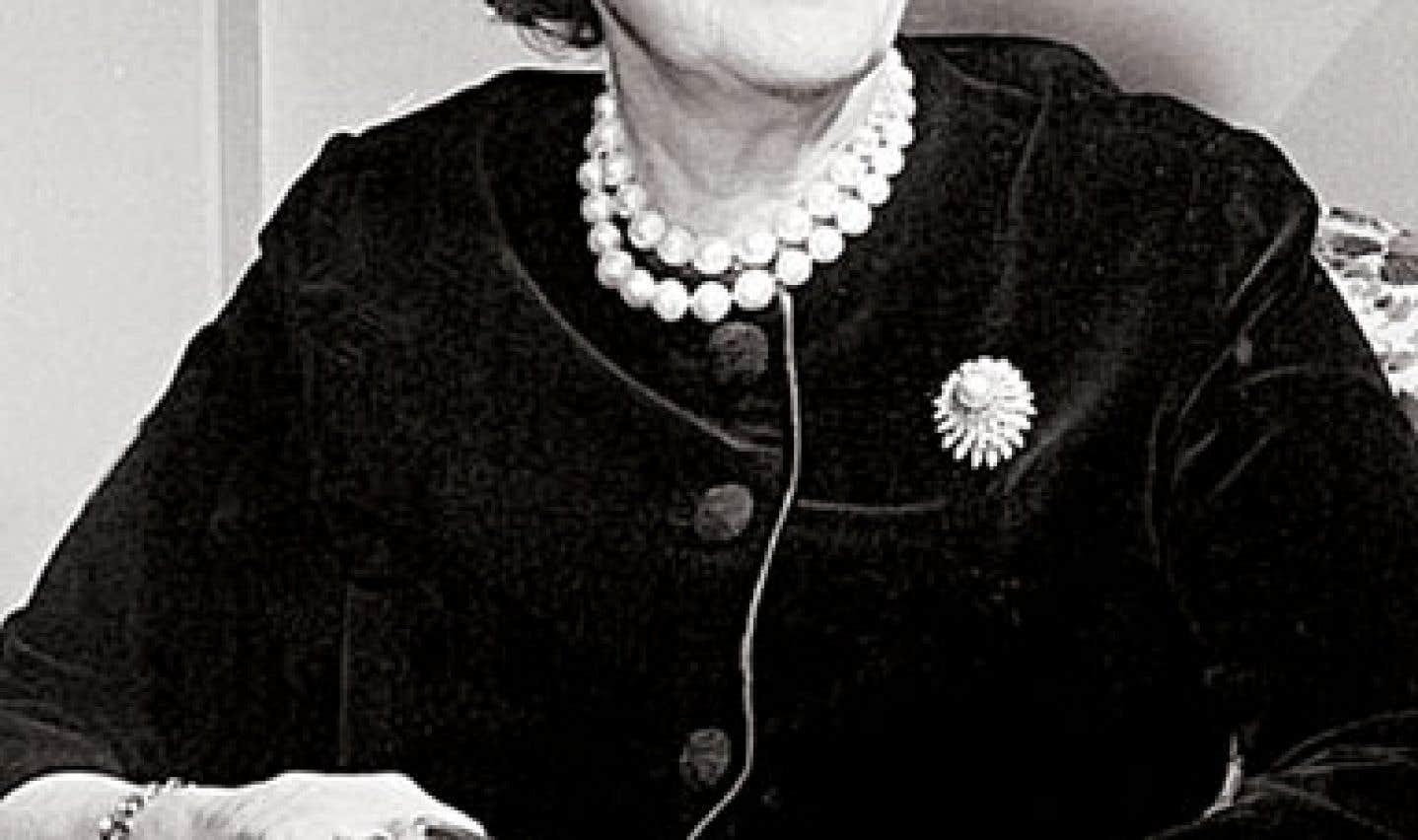 Thérèse Casgrain, l'une des fondatrices de la Ligue