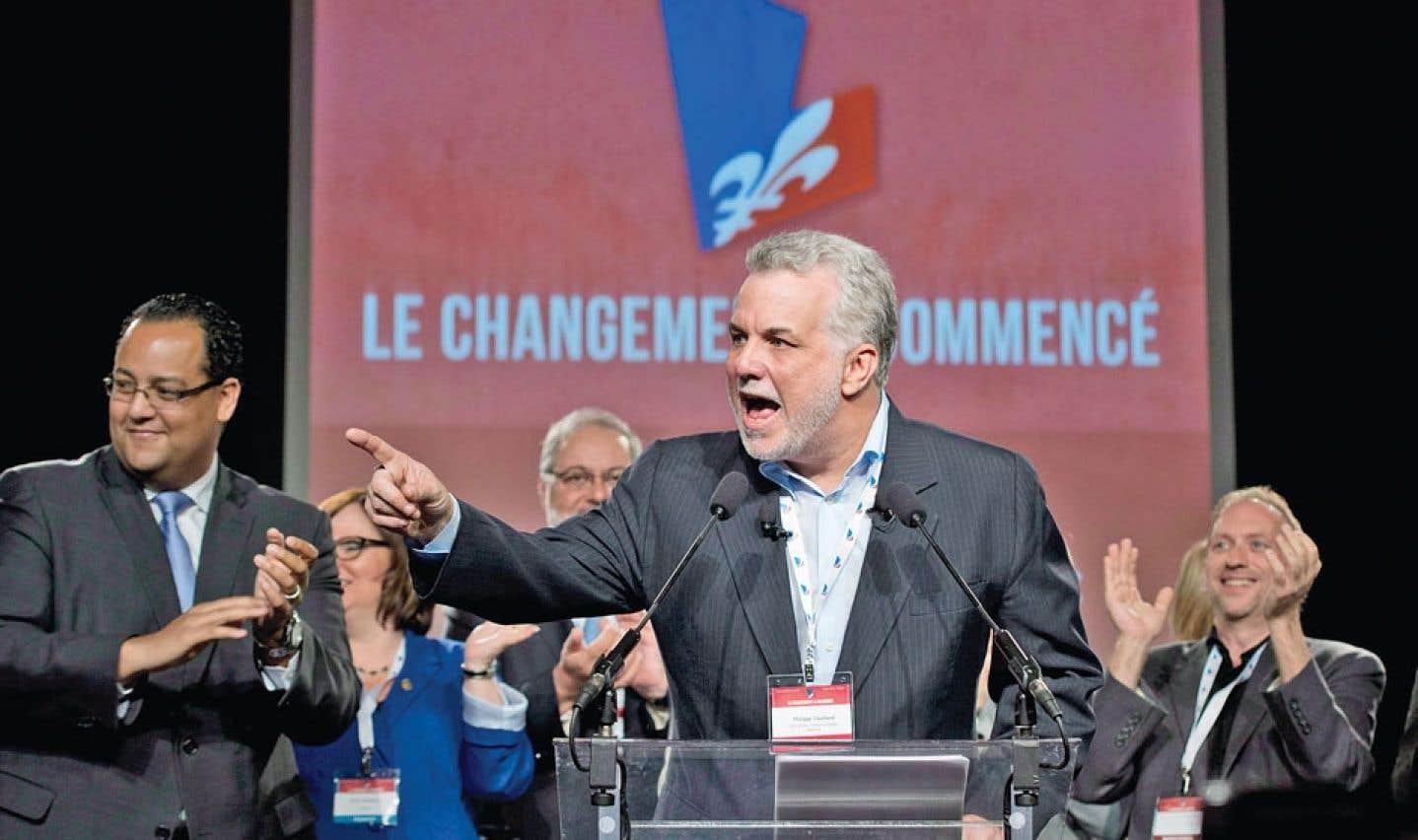 Conseil général du PLQ - Couillard fait l'éloge du progressisme libéral
