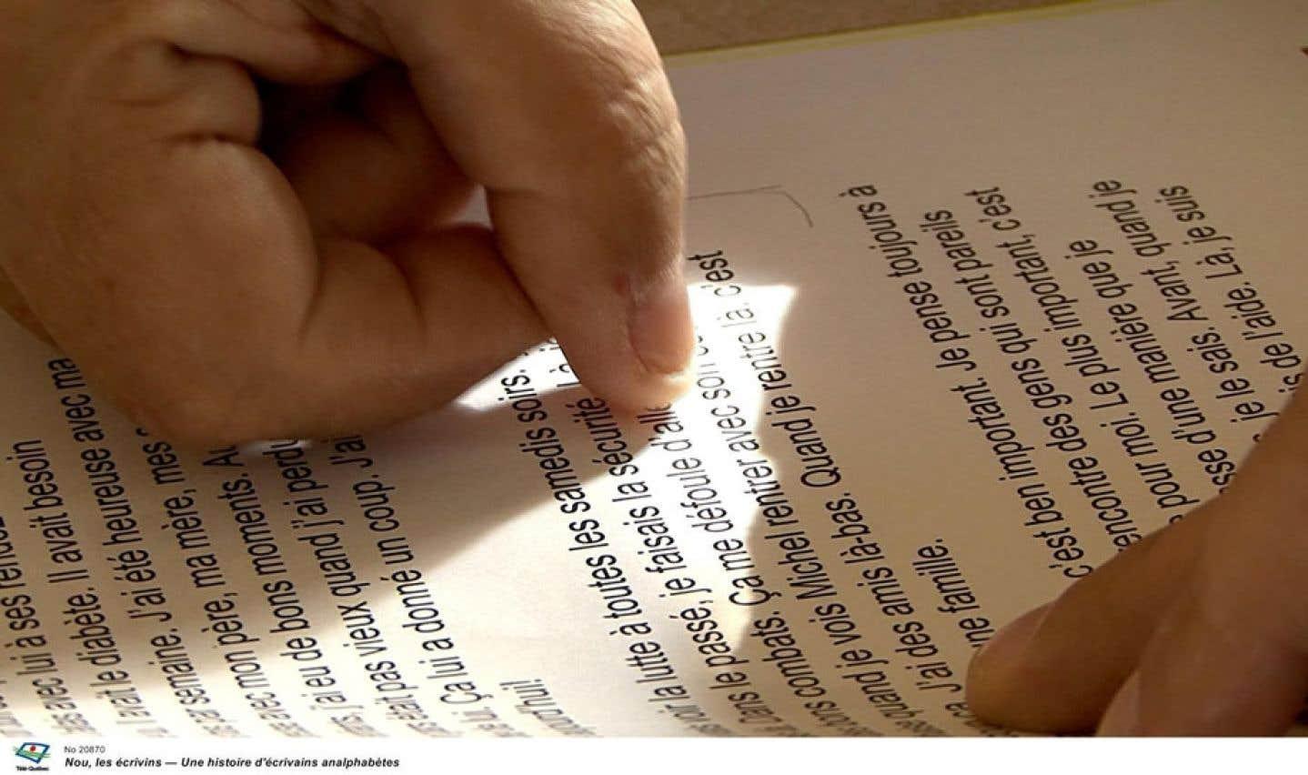 Le problème de plusieurs personnes est qu'elles arrivent à lire, mais qu'elles n'arrivent pas à comprendre ce qu'elles lisent.