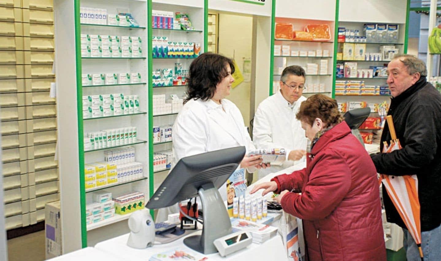 Ailleurs au Canada et dans le monde, les compétences des pharmaciens sont davantage utilisées qu'au Québec.