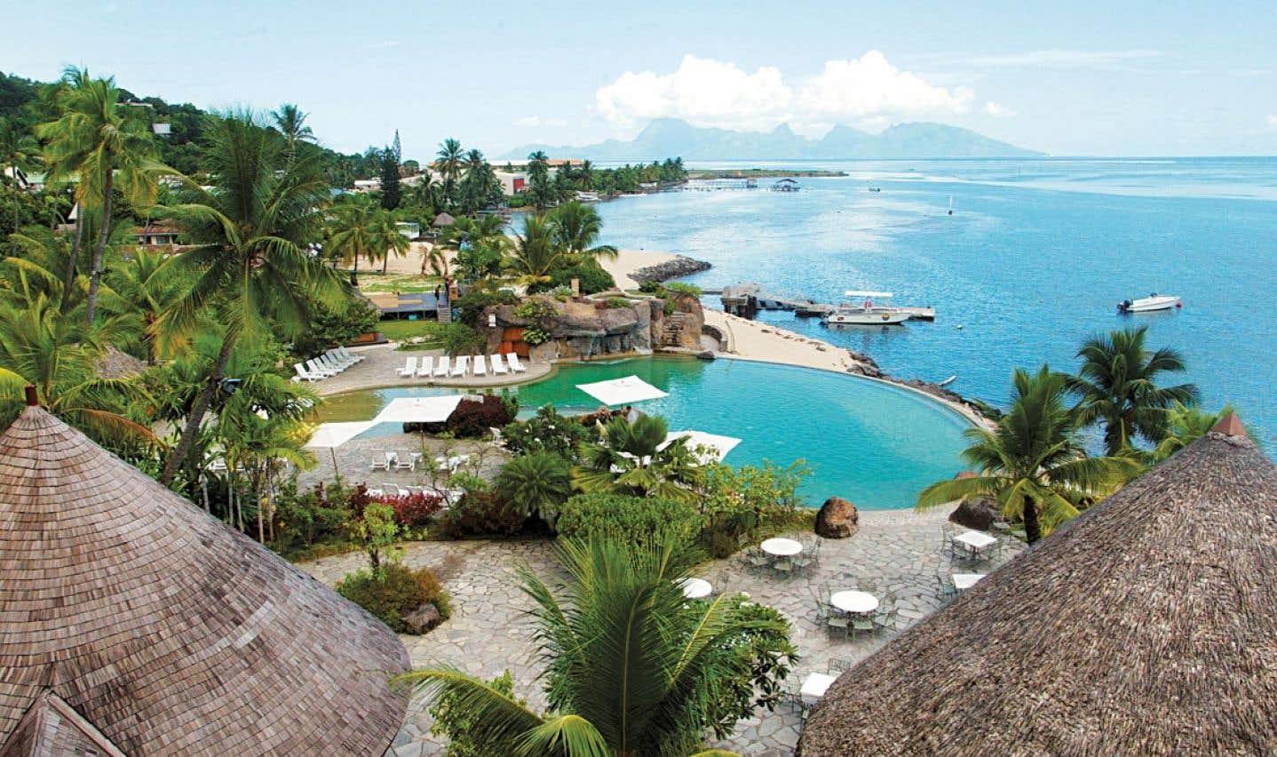 Un hôtel de Papeete, en Polynésie française.