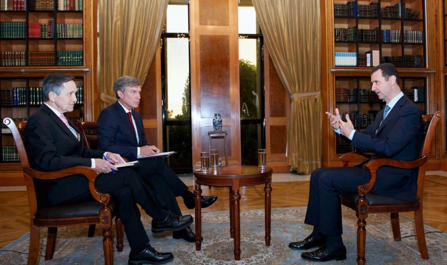 Bachar al-Assad en campagne de relations publiques cette semaine.