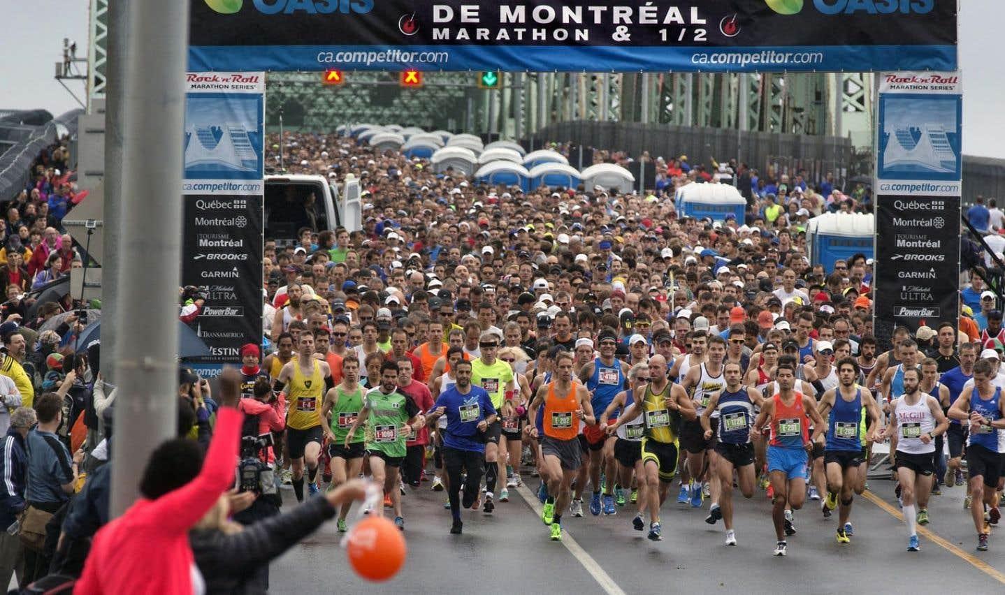 Participation record au Marathon de Montréal