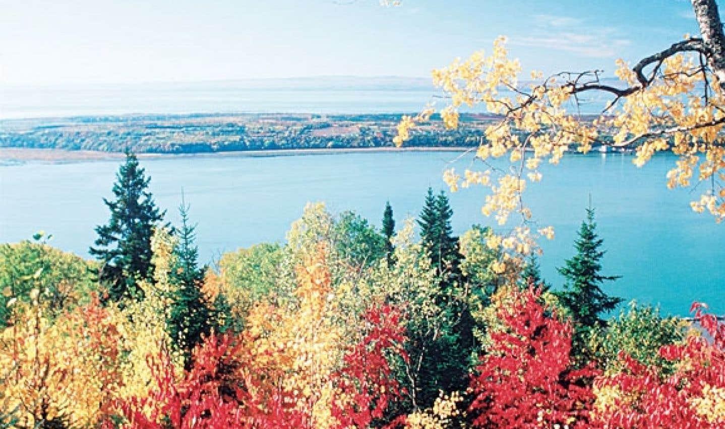 La région attire surtout les touristes grâce à ses paysages.