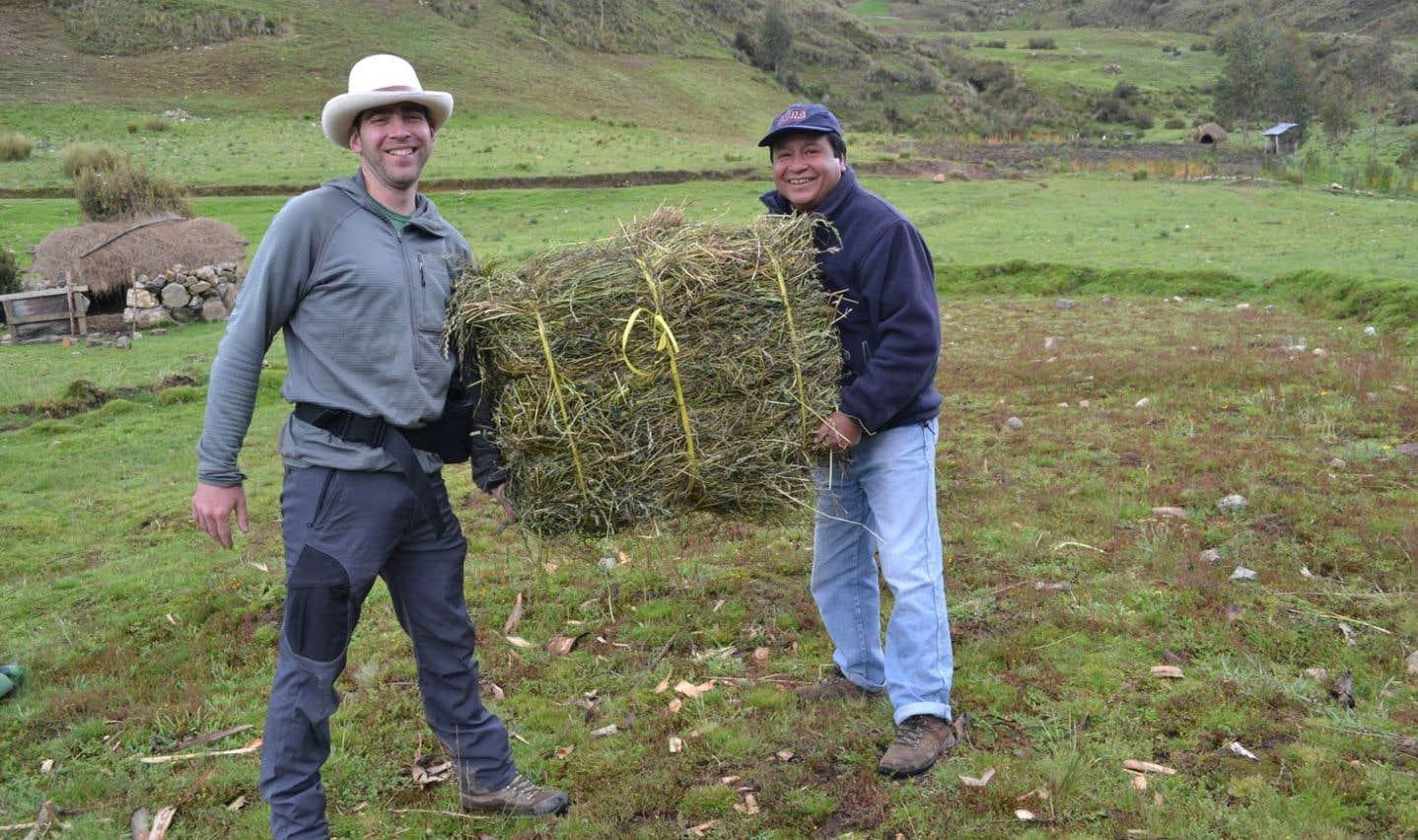 Dans la petite collectivité de Tashta, au Pérou
