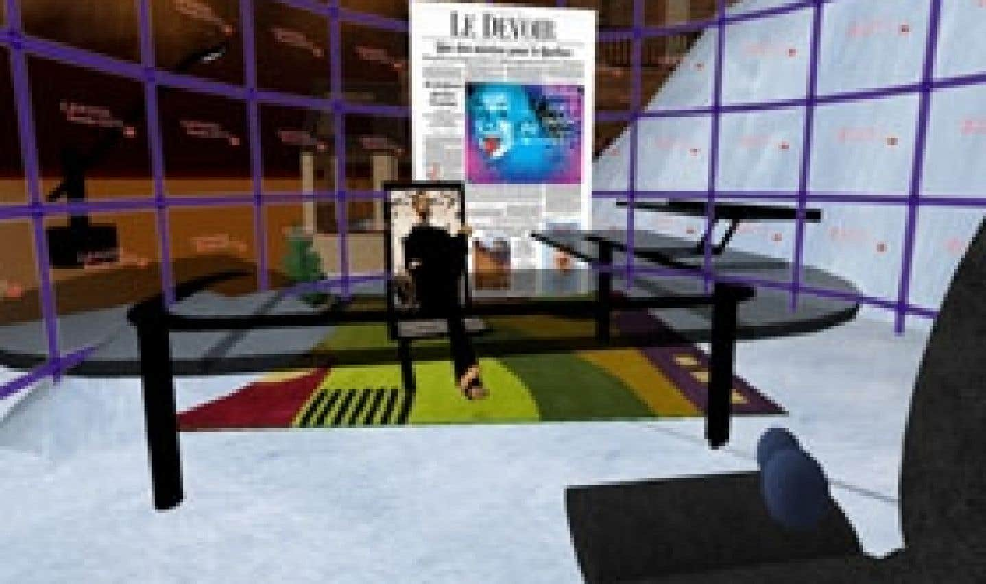 Second Life: un monde plein de vide