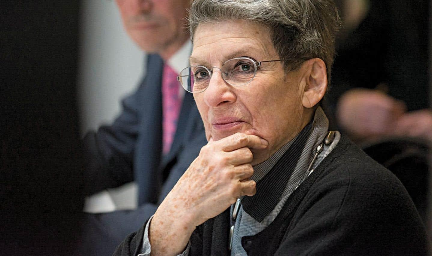 Phyllis Lambert cède la présidence du CCA