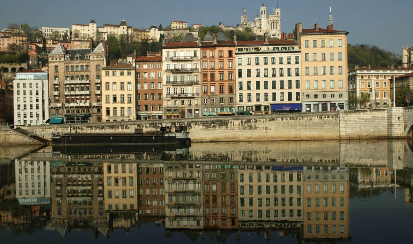 Quais de la Saône à Lyon