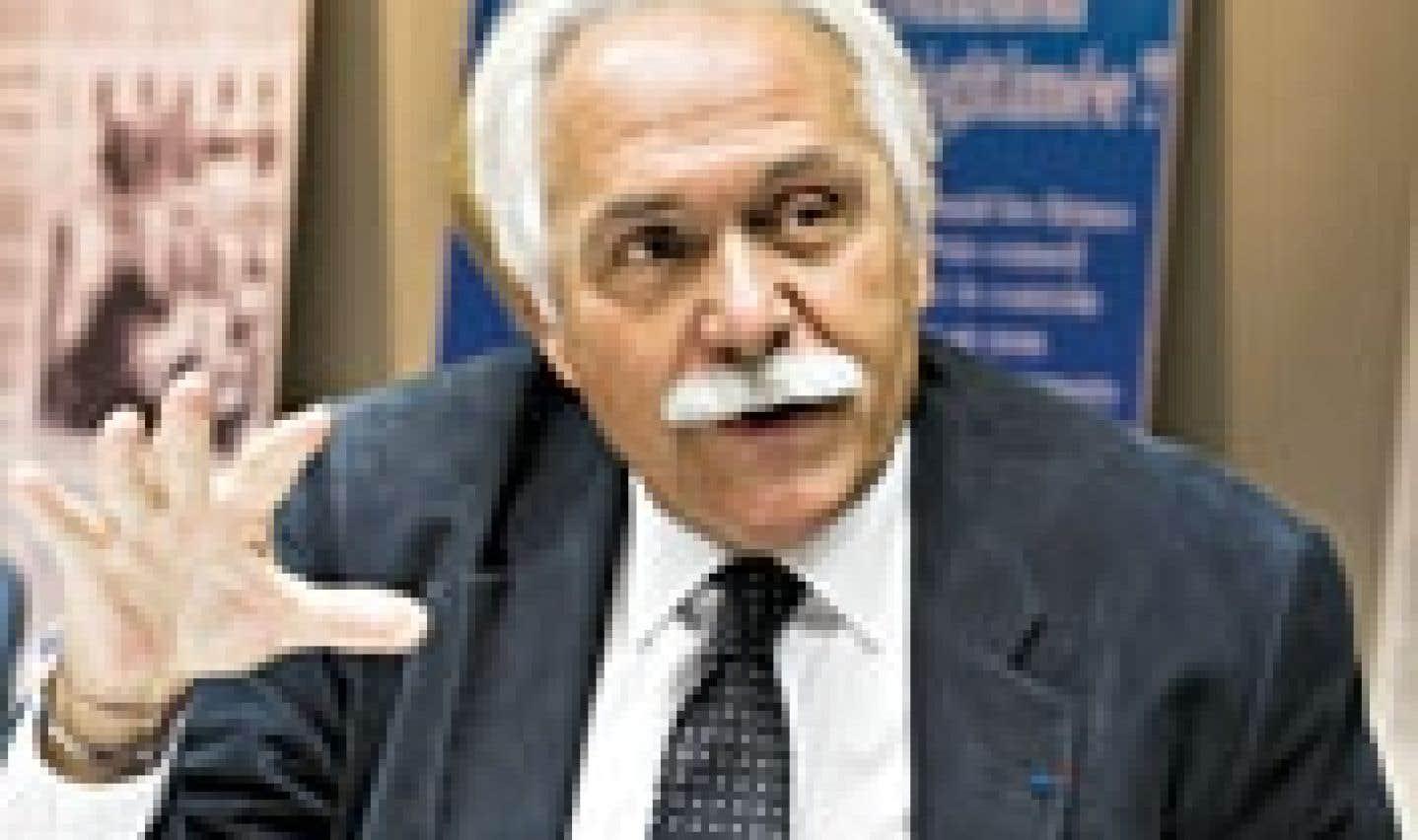 Alain Bideau, délégué général et fondateur du Centre Jacques Cartier